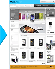 PrestaShop template and theme exemplaire